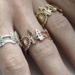 Необычные кольца от Cityscape