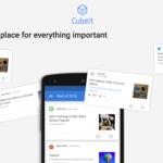 Cubeit позволит вам объединить любимые приложения