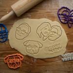 Селфи-формочки для печенья на 3D принтере