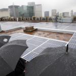 Солнечные батареи, превращающие дождь в энергию