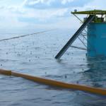 Плавающие барьеры для самоочистки океана