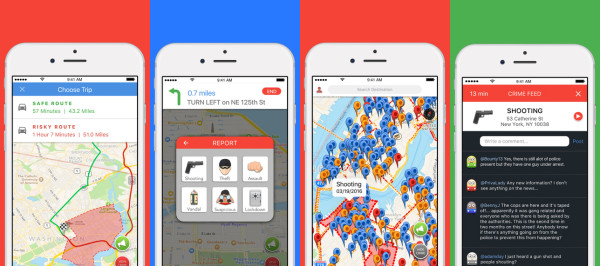 redzone-crime-navigation-app