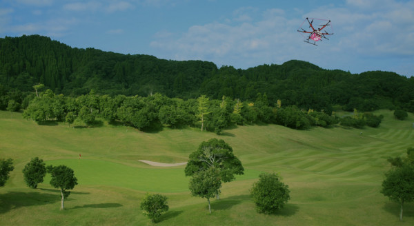rakutendrone-golf-uav-sport-equipment