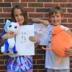 Crayola превращает детские рисунки в мягкие игрушки