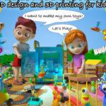 Интерактивная детская книга, обучающая 3D моделированию и печати